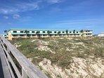 Private beach walkway