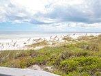 Sandy white beaches