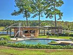 This gorgeous pool adds a luxurious flare to the property.