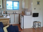 Fully equipped kitchen with all your utensils and pots and pans provided.