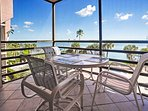 Marvel at the unobstructed views of Marco Bay right from the private balcony!