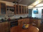 Gorgeous fully equipped kitchen for your enjoyment and Hokulani Kai, Kapoho, Hawaii
