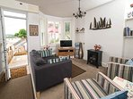 Lounge with view over River Torridge