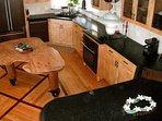Beautiful kitchen - well equipped and functional at Hokulani Kai in Kapoho, Hawaii
