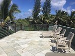 Another view of the rooftop deck of Hokulani Kai - bring your yoga mat!