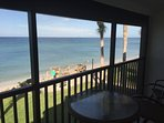 View of Glorious Gulf of Mexico from the lanai