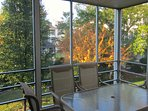 Need a place to relax? Check out your screen porch. You have 2 screen porches at this condo. Enjoy!