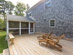 Deck Area & Screened Porch