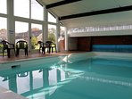 Guests at Conygre Farm have the use of an indoor heated swimming pool