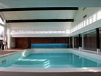 The pool is approx. 8 metres x 4 metres