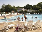 Heated outdoor swimming pool book your holiday with us at Cherry Tree Holiday Park.