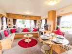 Book this caravan from cherry tree holiday park with us.