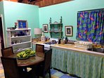 Dining/Kitchen fully equipped!