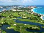 Championship Golf Corse on Paradise Island.