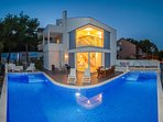 Villacasabianca is a beautiful modern  with pool 40m2  situated 40m   from the .sea and nice garden