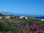 Panorama (sullo sfondo Corsica e Lavezzi)
