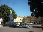 Historic Place Garibaldi - Nice,  where this great  Italian hero was born