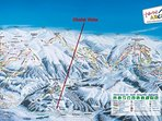 Zillertal Arena ski area, just one of five fabulous ski areas surrounding Chalet Vista.