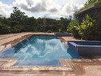 Community salt water pool, steps from Mauser EcoHouse
