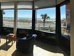Bay window, Gulf view