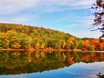 Autumn Colors reflect in our community's Mill Pond Lake