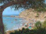 Cala Lanuza - view from Jetset Beach Bar