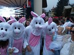 Party with the bunnies at Snowbombing, the largest music festival on snow.