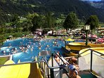 Ramsberg pool, summer fun 2km from Chalet Vista.