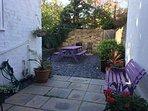 back garden, sunspot