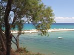 Panormo harbour and beach - only a short walk away!