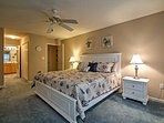 Sleep peacefully in this first Master suite!