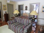 Second floor living room. Centrally located to the three bedrooms and the main bath.