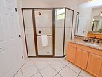 Master bath shower stall