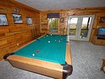 Pool Table & Air Hockey Table in Lower