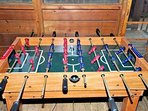 Foosball/AirHockey/Pool Multigame tabledeck