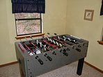 Foosball Upstairs