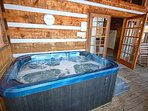 Relax and enjoy the view from Hot Tub