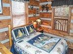 Master Bedroom on main living area