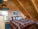 Bed In Loft w/TV
