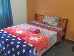 ventilated bedroom