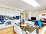 Expansive apartment living