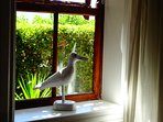 One of my favourite decor pieces is on the window sill of the Design Studio - Jonathan L Seagull