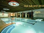 Swimming pool, hot tub, jacuzzi and gym in Mulranny Park hotel