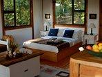 Open-plan bedroom