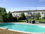 Carcassonne South France holiday gites with pool