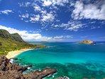 Mokapu Lighthouse is 20 mins drive