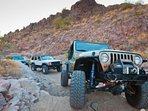 Jeeping adventures with family and friends.