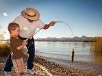 Memorable fishing trips.
