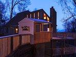 Building,Cottage,Deck,Porch,Playground