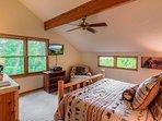 Bedroom,Indoors,Room,Light Fixture,Vault Ceiling